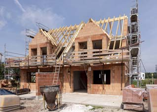 Feuerrohbauversicherung für den Hausbau